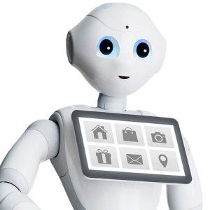 roboți în centrele comerciale