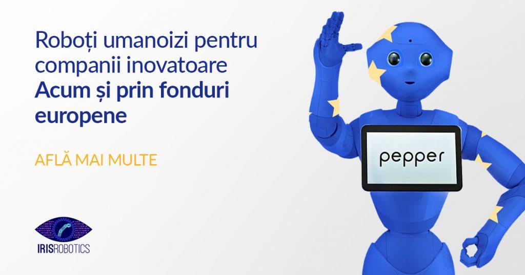 Roboti umanoizi prin fonduri europene