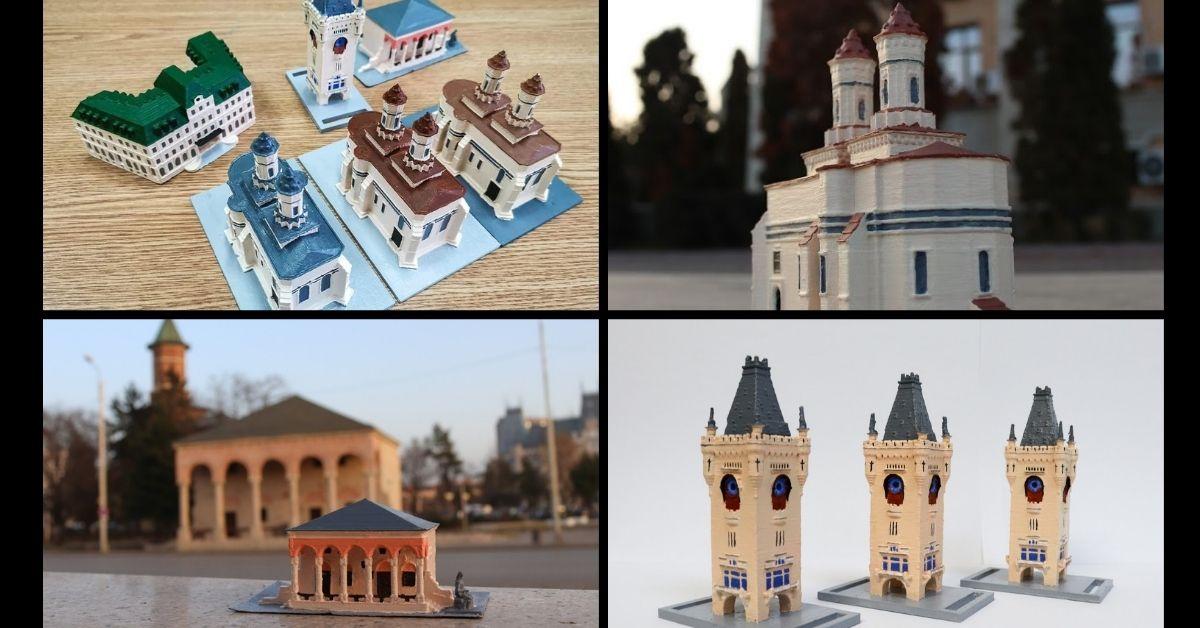 Iașiul printat în miniatura