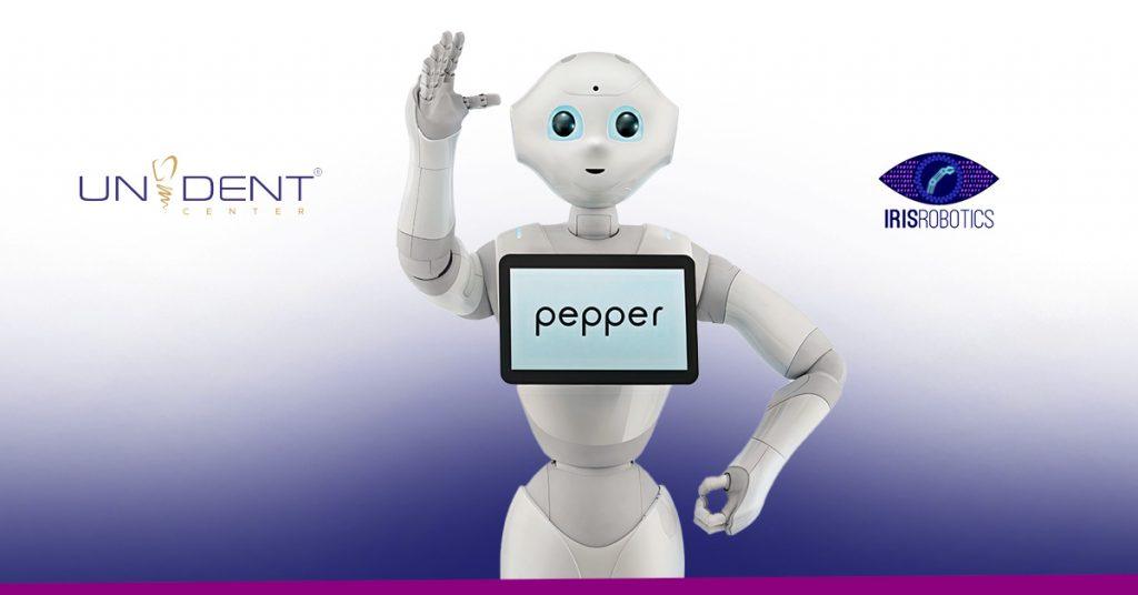 Robotii Pepper la Unident Romania